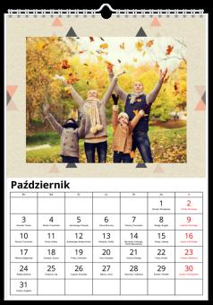 Abstrakt kalendarz