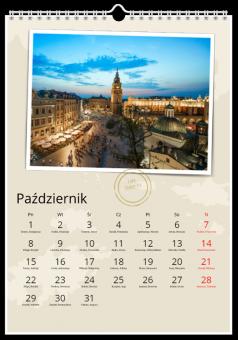 Fotografie kalendarz adventure