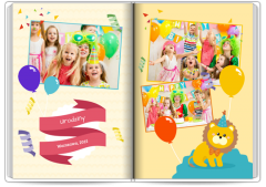 Fotoksiążka Birthday Party - Nakolorowo.pl