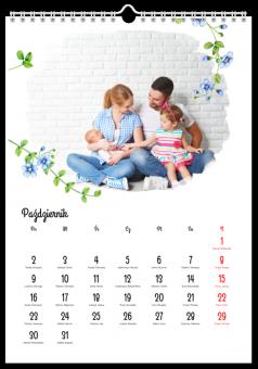 Kalendarz ze zdjęciami Bukiet wspomnień