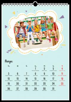 Kalendarz ze zdjęciami Dziecięca przygoda