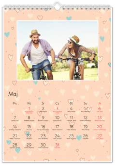 Fotografie kalendarz forever in love