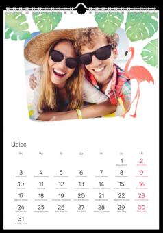 Fotokalendarz Gorące Podróże