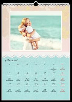 Haftowany fotokalendarz