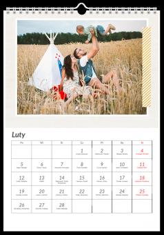 fotografie kalendarz Happy family