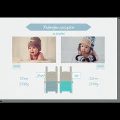 Kicaki bliźniaki obraz do pokoju dziecka