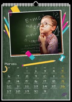 Fotokalendarz Kolorowe Kredki