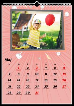 Fotokalendarz Komiks