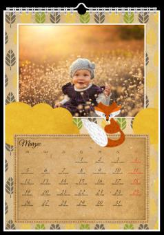Kalendarz ze zdjęciami Lisek Chytrusek