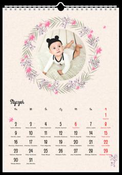 Lovely Flovers Zdjęcia Kalendarz