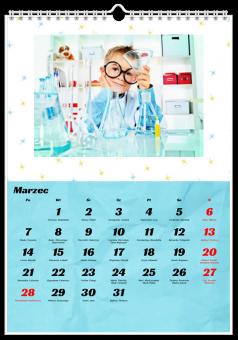 kalendarz ze zdjęciami Na pamiątkę