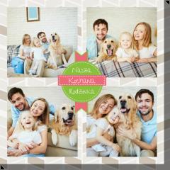 Nasza kochana rodzinka 2 obraz do druku ze zdjęciem