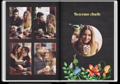 Album zdjęcia ogród miłości