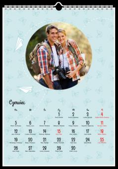 Zdjęcia kalendarz origami