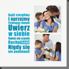 Rodzinne cytaty obraz z fotografią
