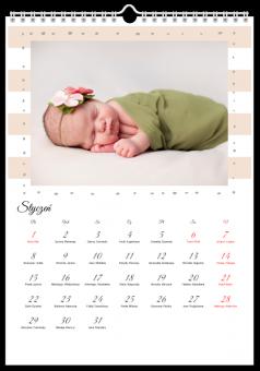 Kalendarz ze zdjęciami Skarb