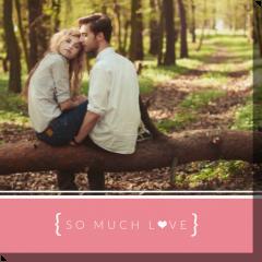 zdjęcia na płótnie So Much Love 2