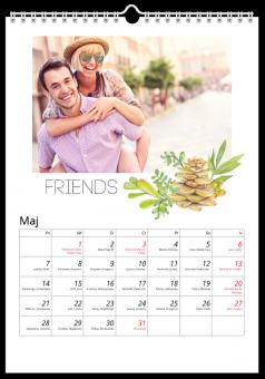 Kalendarz ze zdjęciami Szczęście razem
