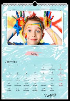 szkolny zdjęcia kalendarz