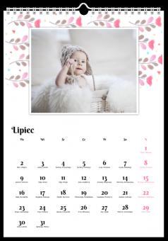 Tęczowy folk fotografie kalendarze