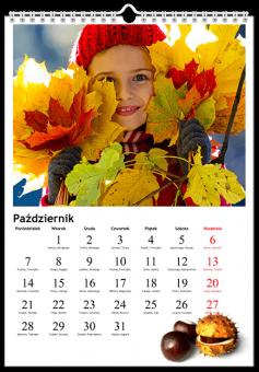 Fotokalendarz Tematyczny - Nakolorowo.pl