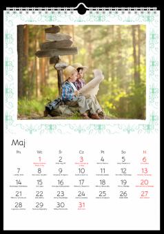 Zdjęcia kalendarz Uroczy