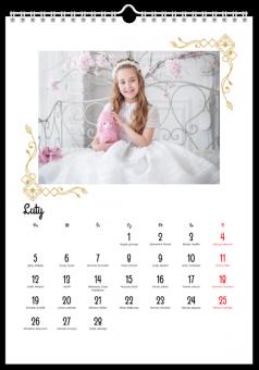 Kalendarz w bieli