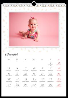 Wycinanka fotokalendarz