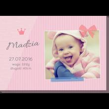 Mała księżniczka obraz ze zdjęciem do druku