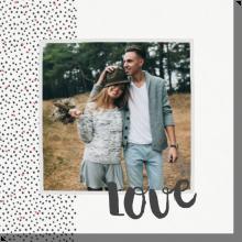 Miłość w kropki obraz