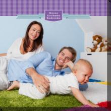 fotoobraz drukowany na płótnie Nasza kochana rodzinka