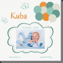 Pastelowe balony obraz do pokoju dziecka
